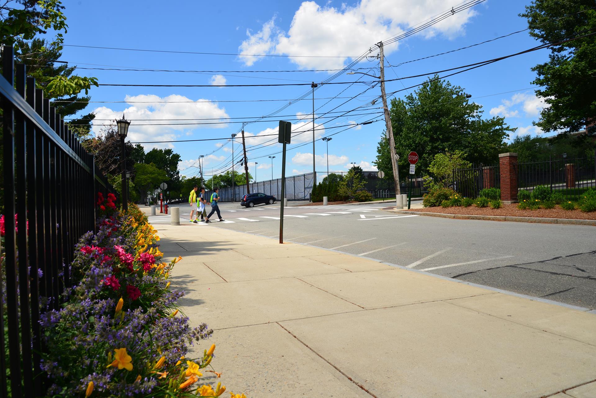 Tufts University Street Intersection, Somerville, Massachusetts